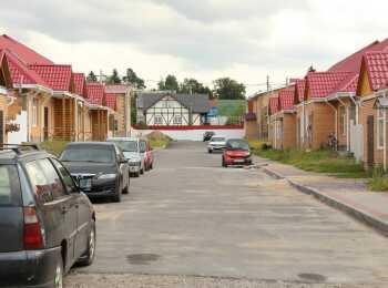 Панорама жилых домов ЖК Виктория